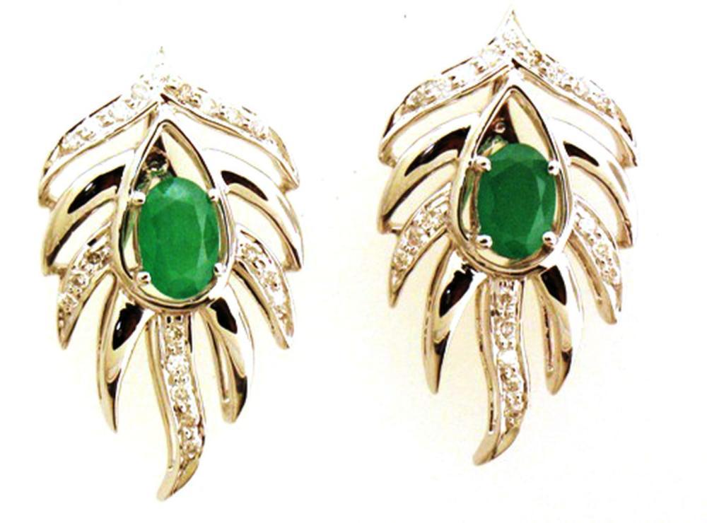 Emeralds 0.90 carats