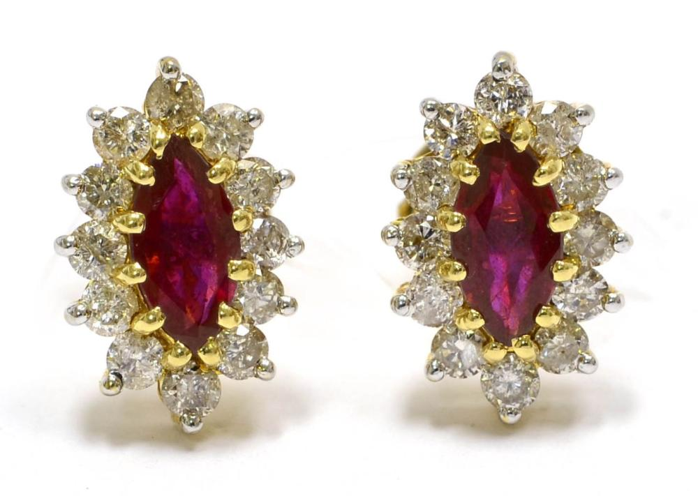 Enhanced rubies 1.30 carats