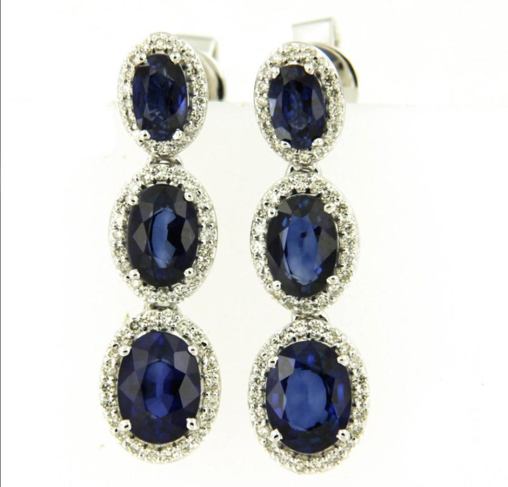 Sapphires 3.70 carats