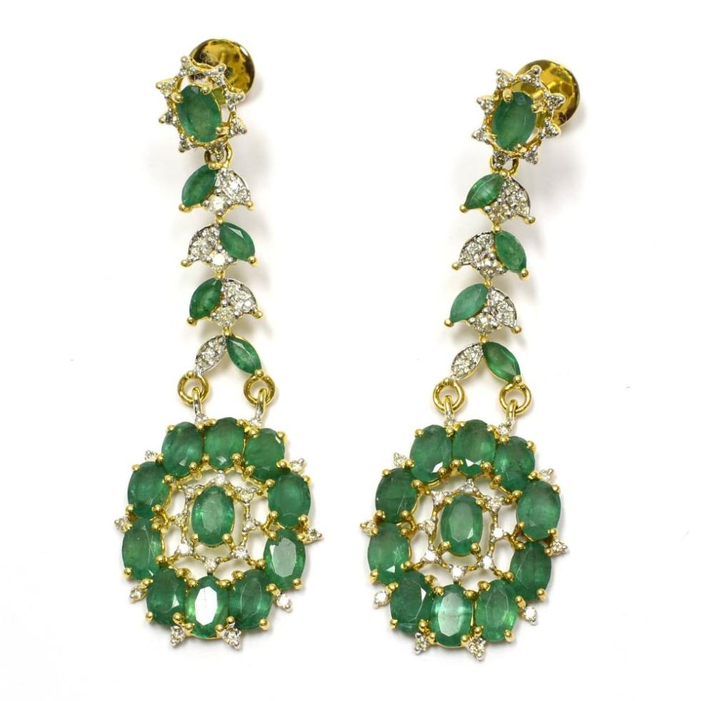 Lot 556: Emeralds 11.30 carats