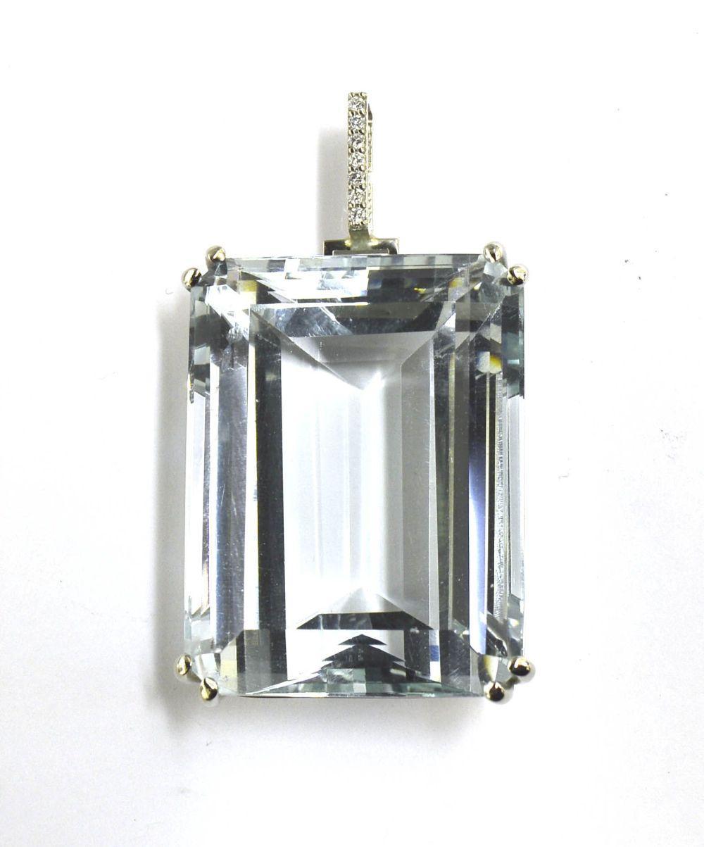 Aquamarine 161.00 carats