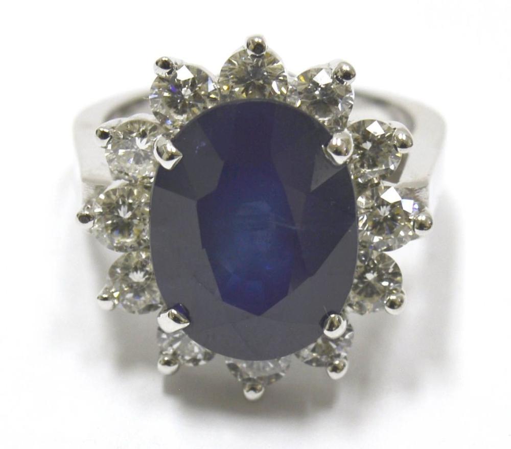Sapphire 7.90 carats
