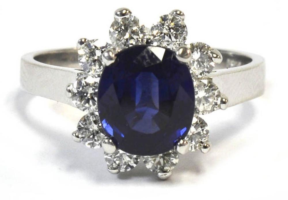 Sapphire 2.76 carats