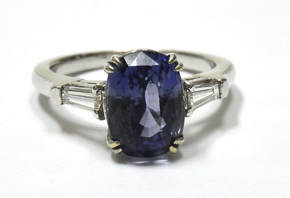 Sapphire 4.15 carats