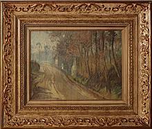 Edouard Chappel, Studi di alberi, 1905