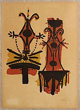 Wifredo Lam, Pour Jorn, 1976