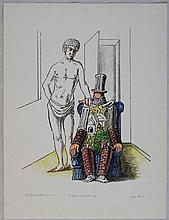 Giorgio De Chirico, Il riposo dell'archeologo 1^ versione, 1970