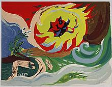 André Masson, Wave of future, 1976