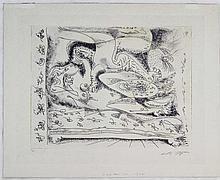 André Masson, Dans l'halcove hantée, 1968