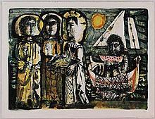 Antoni Clavè, Les Saintes Maries, 1952