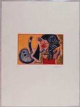 Guillaume Corneille, Senza titolo dal portfolio '1948', 1988