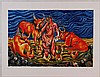 Sandro Chia, Pastorale, Litografia a 25 colori, Sandro Chia, €500