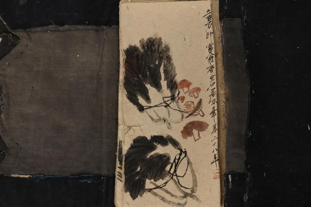 CHINESE PAINTING ALBUM OF FRUIT AND INSECTS