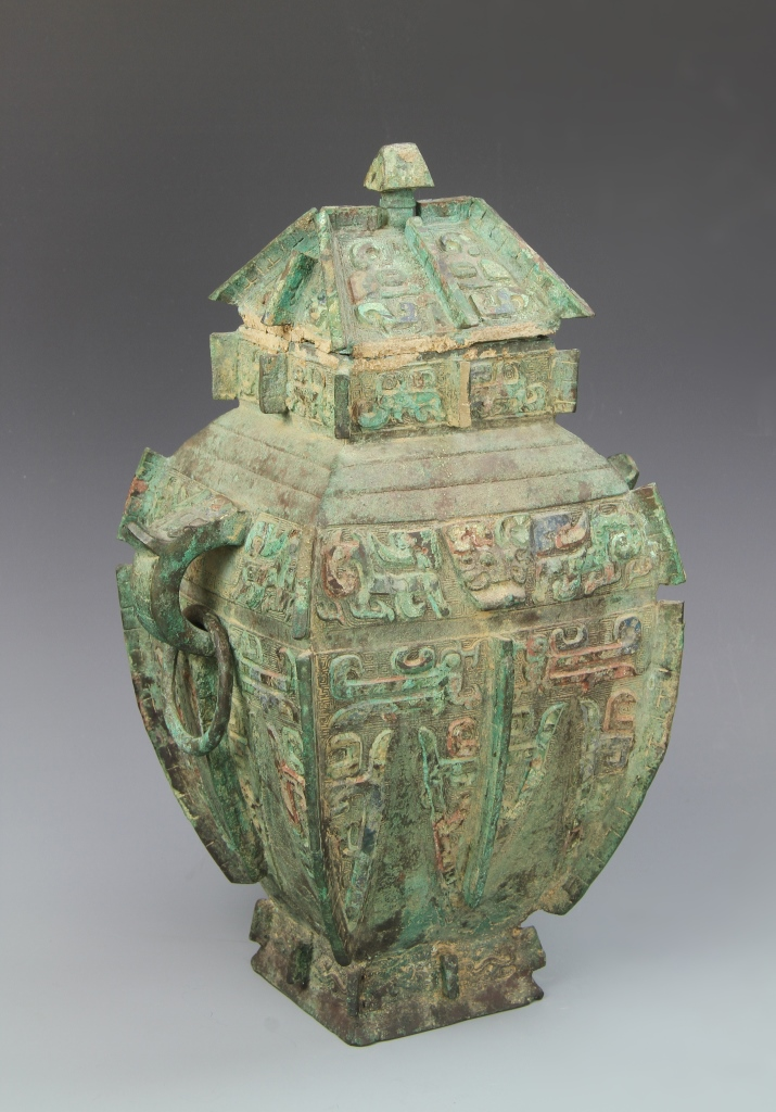 Chinese antique bronze vessel for Asian antiques uk