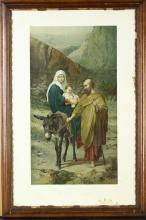 Poster of Flight into Egypt