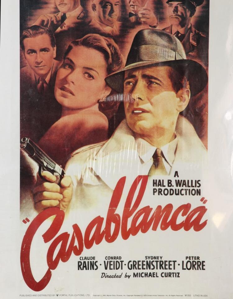 Casablanca movie poster for Poster casablanca