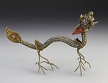 Chinese Cloisonne Dragon