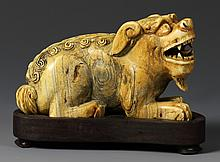 Chinese Mythical Animal with Base