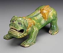 Chinese Sancai Foo Lion