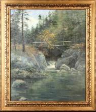 Oil On Canvas, Landscape, Framed