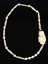 Japanese Ivory Necklace