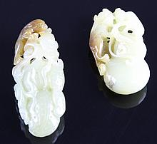Two Chinese Jade Pendants