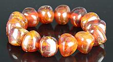 Chinese Amber Necklace