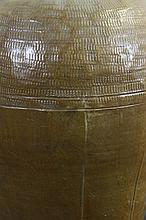Chinese Brown Glazed Wine Jar