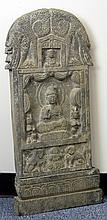 Chinese Stone Buddha Stele
