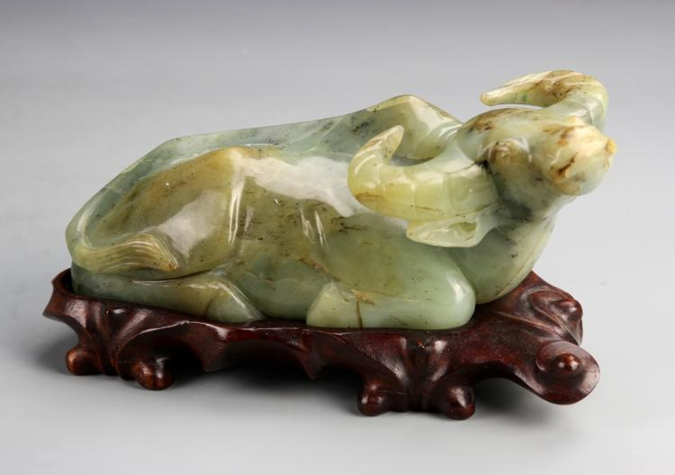 Chinese Jade Cow