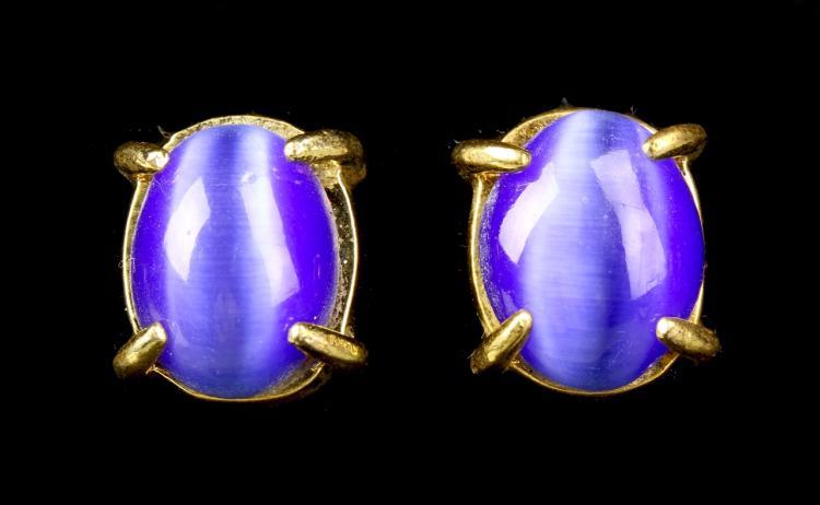A Pair of Tiger Eye Earrings