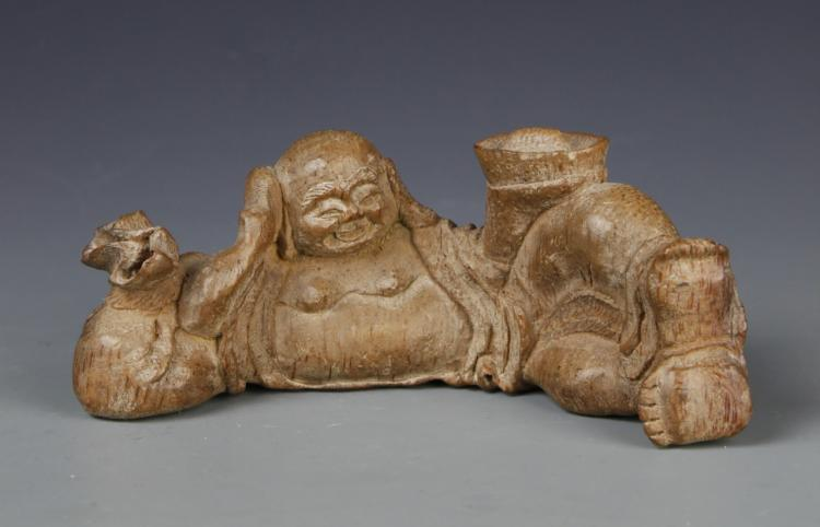 Chinese Bamboo Carved Brush Rest