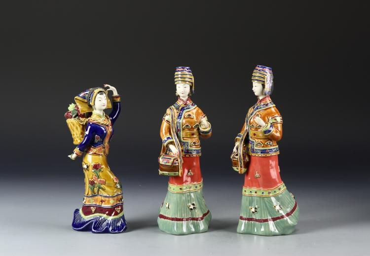 Chinese Porcelain Ladies