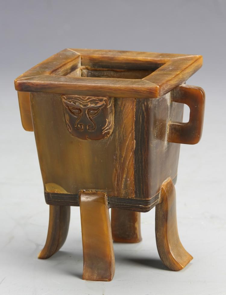 Chinese Square  Censer