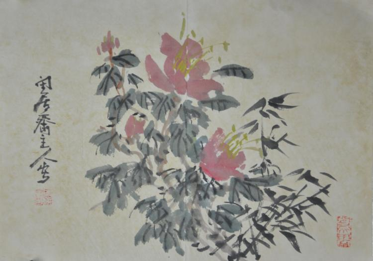 Chinese Paintings (2 pc.)