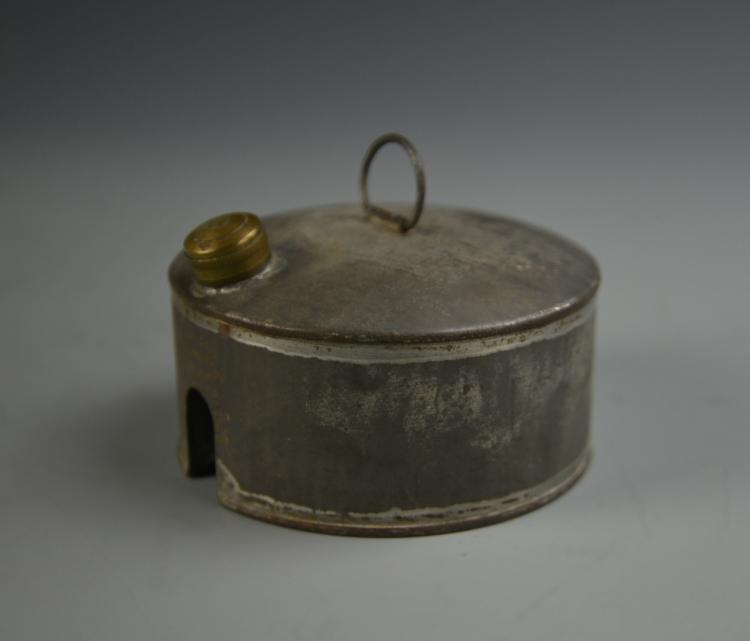 Brass and Tin Fuel Container