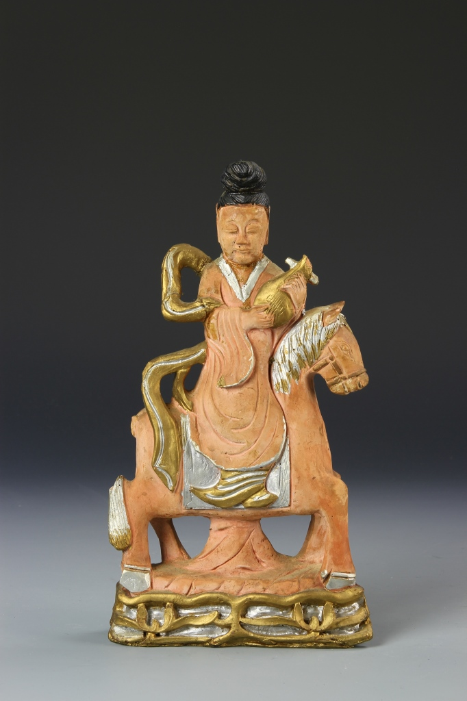 Chinese Buddha on Horse