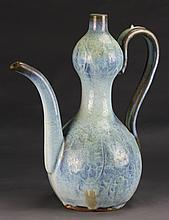 Chinese Jun Ware Wine Pot