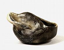 Chavin Vegiform Blackware Bowl