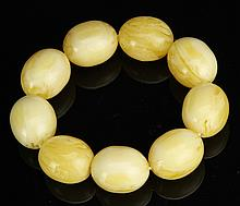 Chinese Wax Beaded Bracelet