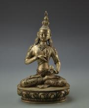 Chinese Tibetan Metal Buddha