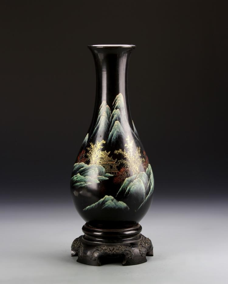 Chinese Lacquer Vase
