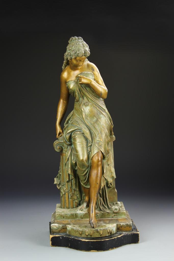 European Bronze Statue
