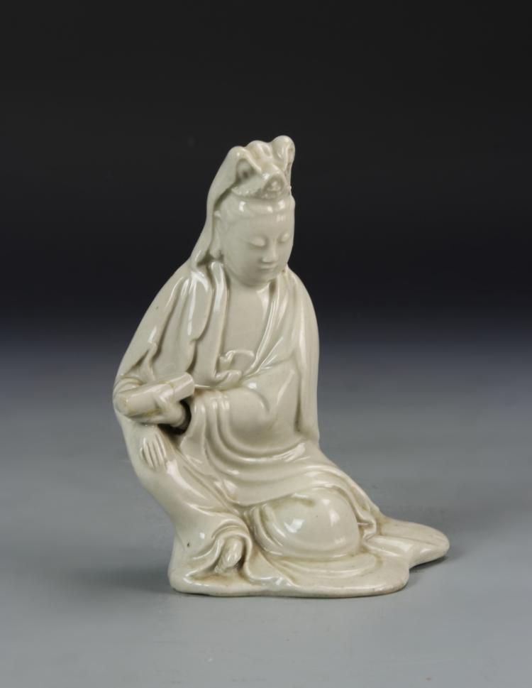 Chinese Glazed Guanyin