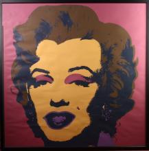 Andy Warhol Monroe Poster Print