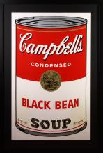 Andy Warhol Soup Poster Print