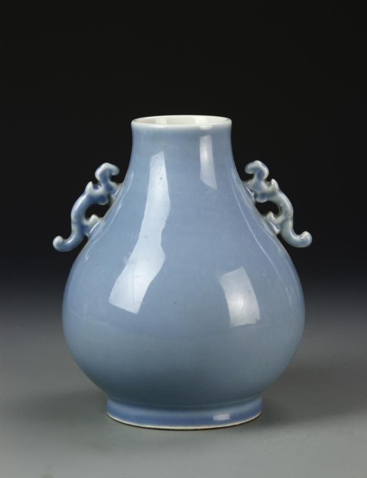 Chinese Celadon Glazed Cong Vase