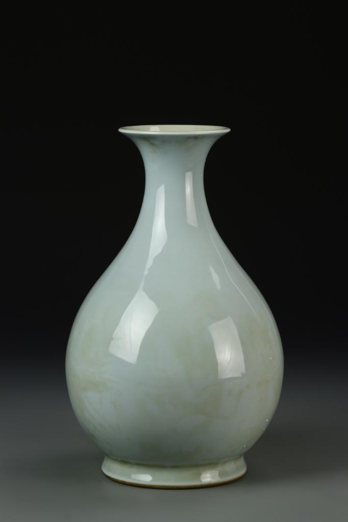 Chinese Celadon Glazed Yuhuchunping Vase
