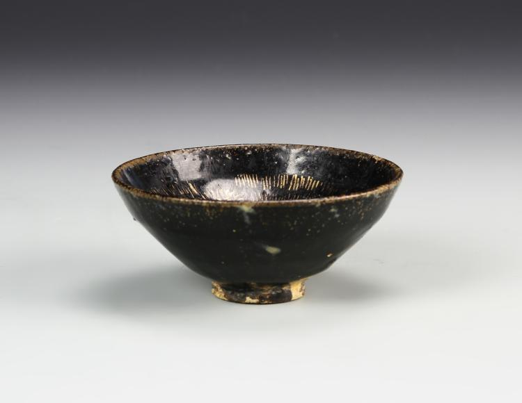 Chinese Antique Jian Yao Bowl