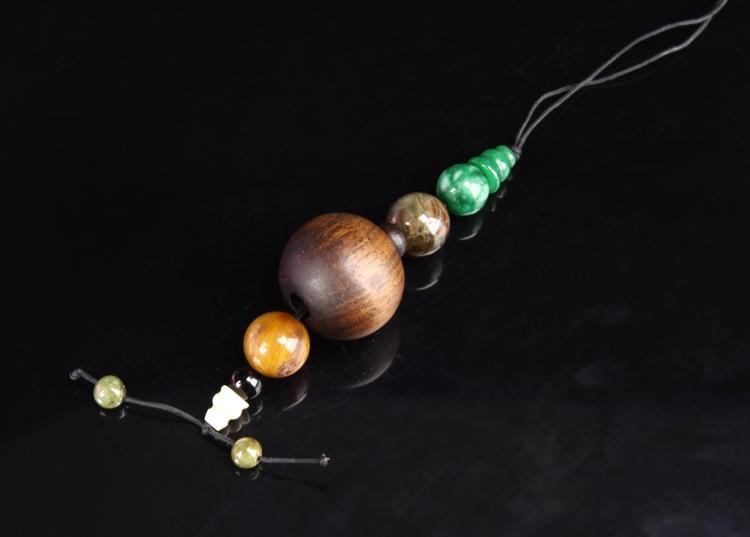 Chinese Chengxian Wood Beads